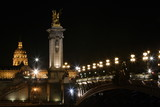 pont alexandre, les invalides poster