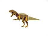 golden dinosaur poster