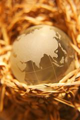 crystal globe #8
