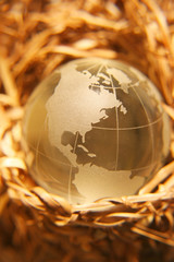 crystal globe #11