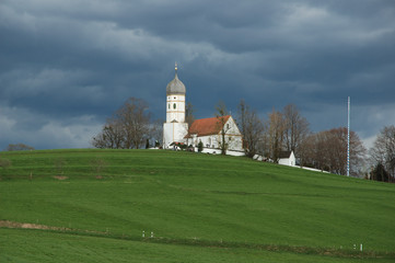 church on hill