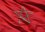moroccan flag poster