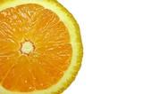 cut orange poster