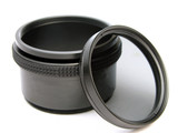 circular polarizer filter and adapter poster