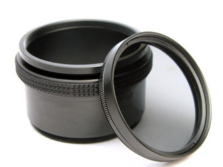 circular polarizer filter and adapter