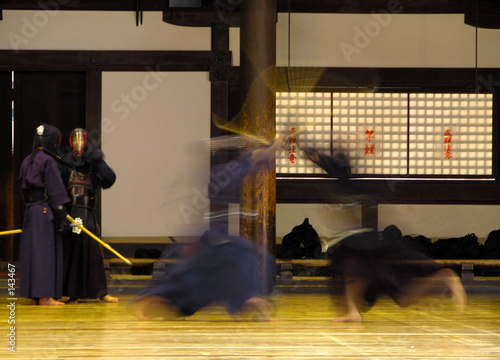 kendo fighting