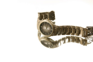 isolated wrist watch