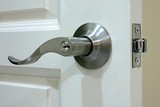 door handle poster