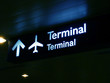 terminal sign board