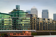 london offices and apartment blocks