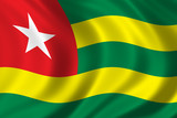 flag of togo poster