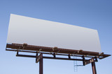 blank billboard 6 poster