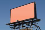 blank billboard 3 poster