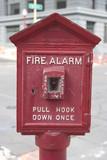 city fire alarm poster