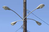 four street lights poster