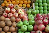 fruit market display poster