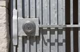 gate lock poster