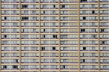 apartment building face