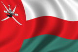 flag of oman poster