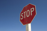 stop sign #1 poster