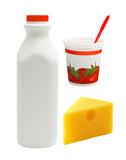 milk,yogurt,cheese poster
