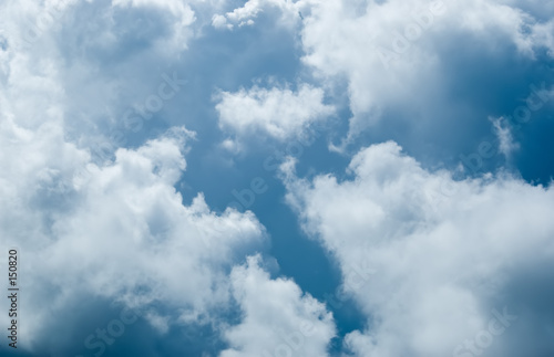poster of stormy clouds
