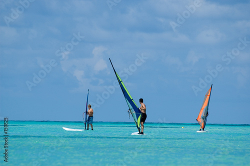 poster of windsurfers
