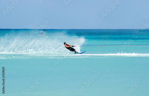 Canvas Water Motorsp. waterskiing 3
