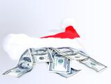 christmas cash - present poster