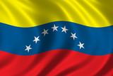 flag of venezuela poster