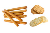 crackers and bread sticks poster