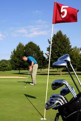 scene de golf