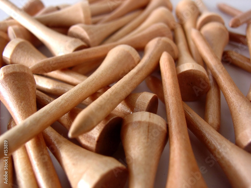 poster of golf tees
