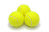tennis balls poster