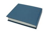 blue log book poster
