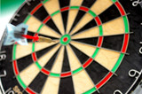 flying dart poster