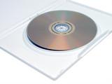 dvd in white case poster