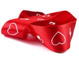 valentine ribbon poster