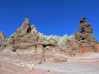 montañas de lava