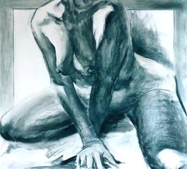 naked woman torso