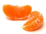 orange pieces poster