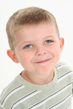 stock photography: adorable four year old caucasia poster