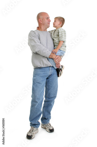 stock photography:  father and son