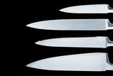 knife blades (2) poster