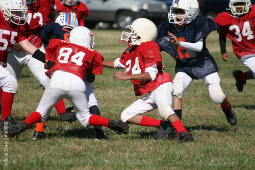 peewee football 1 - 160818