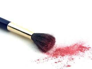 brush and powder