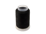 black sawing thread bobbin-clipping path poster