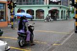 circulation dans malé (maldives) poster