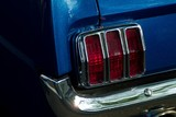 mustang gt tail light poster