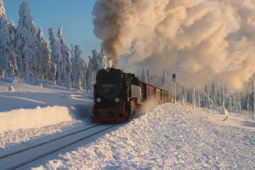winter in brocken